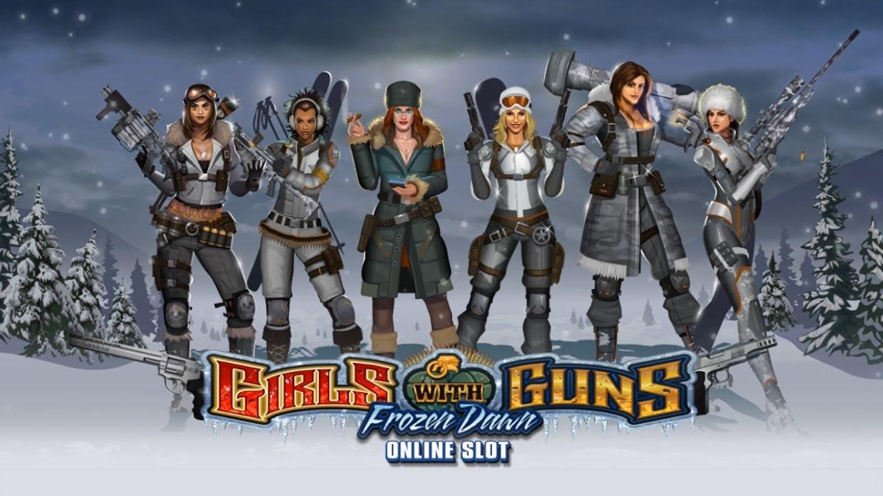 Girls with Guns slot: Frozen Dawn